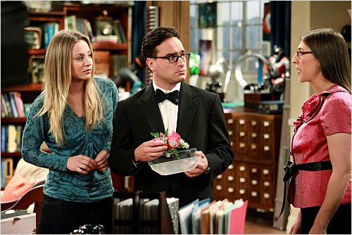 The Big Bang Theory : photo Johnny Galecki, Kaley Cuoco, Mayim Bialik