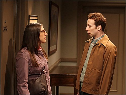 Photo Kevin Sussman, Mayim Bialik