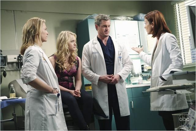 Grey's Anatomy : Photo Eric Dane, Jessica Capshaw, Kate Walsh, Leven Rambin