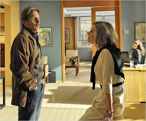 The Good Wife : photo Christine Baranski, Gary Cole