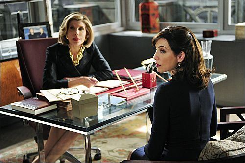 Photo Christine Baranski, Julianna Margulies