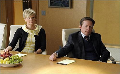 The Good Wife : photo Martha Plimpton, Michael J. Fox