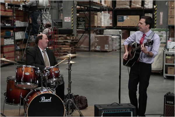 Photo Brian Baumgartner, Ed Helms