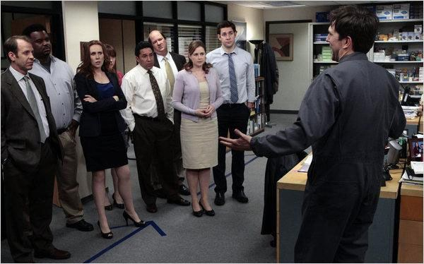 Photo Brian Baumgartner, Catherine Tate, Craig Robinson, Ed Helms, Ellie Kemper