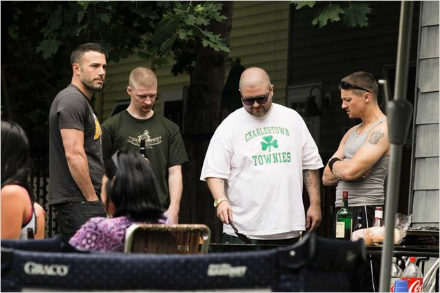 The Town : Photo Ben Affleck, Jeremy Renner, Owen Burke (II), Slaine