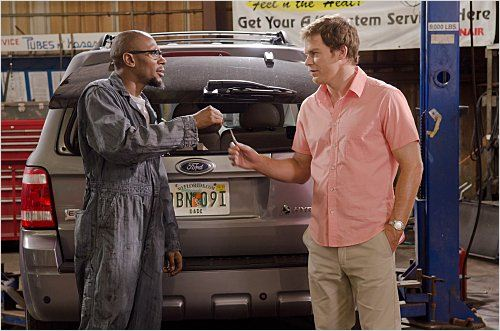 Dexter : photo Michael C. Hall, Yasiin Bey