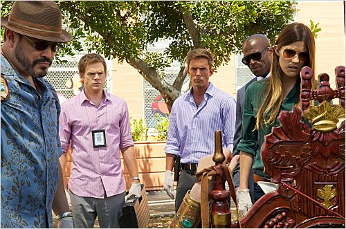 Photo Billy Brown (II), David Zayas, Desmond Harrington, Jennifer Carpenter, Michael C. Hall