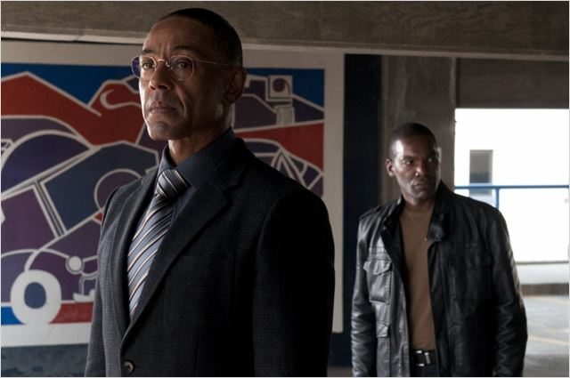 Photo Giancarlo Esposito, Ray Campbell