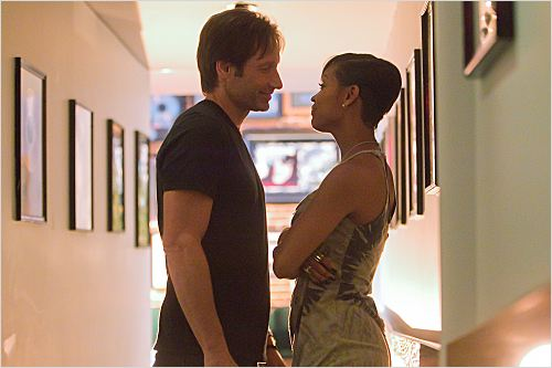 Californication : photo David Duchovny, Meagan Good