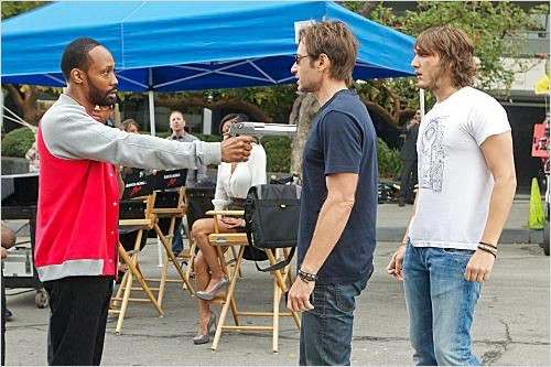 Photo David Duchovny, RZA, Scott Michael Foster