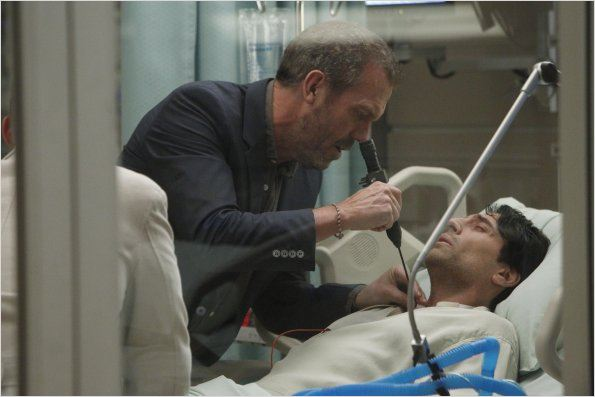 Dr House : photo Hugh Laurie, Vincent Spano