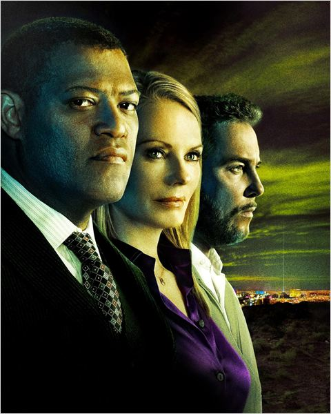 Les Experts : photo Laurence Fishburne, Marg Helgenberger, William L. Petersen