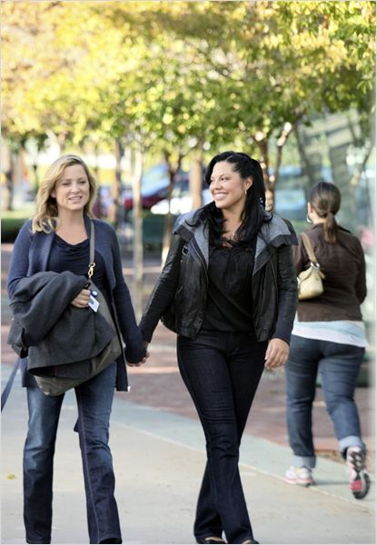 Grey's Anatomy : photo Jessica Capshaw, Sara Ramirez