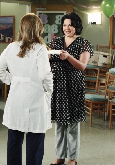 Grey&#39;s Anatomy : photo Jessica Capshaw, Sara Ramirez