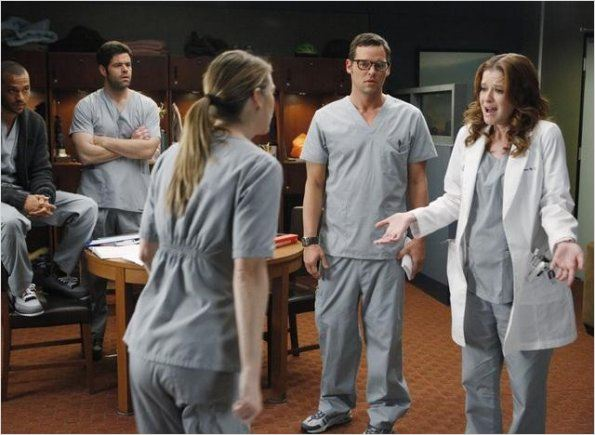Photo Ellen Pompeo, Jesse Williams, Justin Chambers, Robert Baker, Sarah Drew