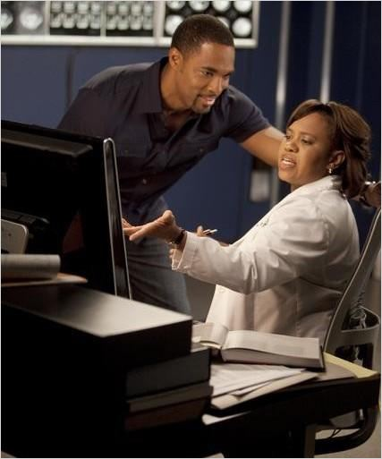 Grey's Anatomy : photo Chandra Wilson, Jason George (II)
