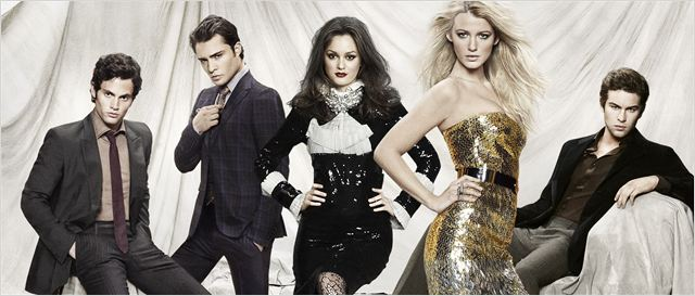 Gossip Girl : Photo Blake Lively, Chace Crawford, Ed Westwick, Leighton Meester, Penn Badgley