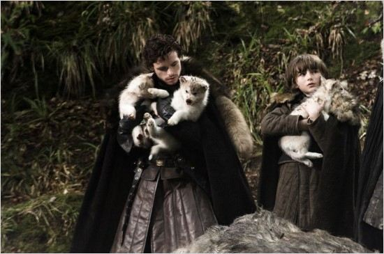 Game of Thrones : Photo Isaac Hempstead-Wright, Richard Madden