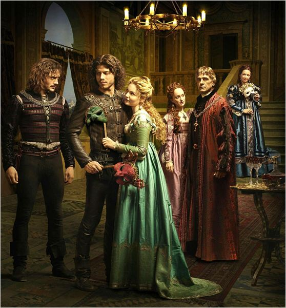 The Borgias : Photo David Oakes, François Arnaud, Holliday Grainger, Jeremy Irons, Joanne Whalley