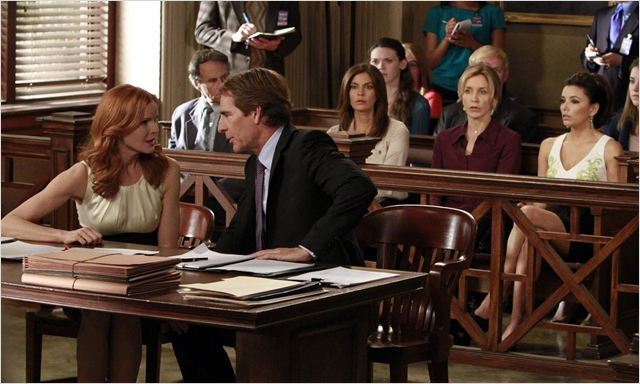 Desperate Housewives : photo Eva Longoria, Felicity Huffman, Marcia Cross, Scott Bakula, Teri Hatcher