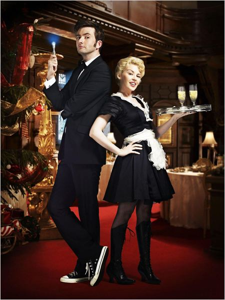 Doctor Who (2005) : photo David Tennant, Kylie Minogue