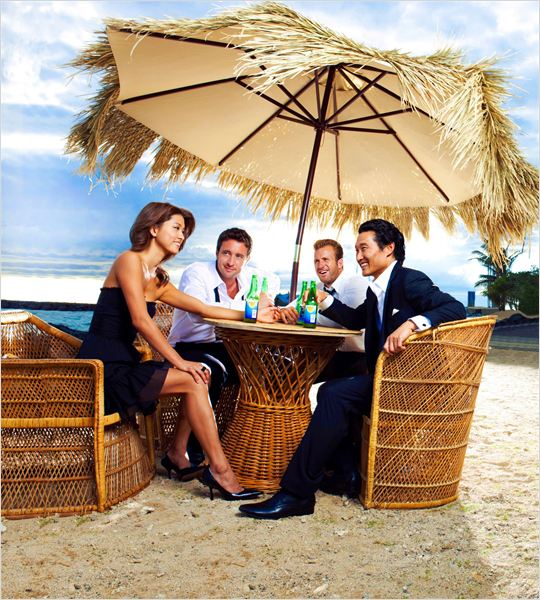 Hawaii 5-0 : photo Alex O'Loughlin, Daniel Dae Kim, Grace Park, Scott Caan