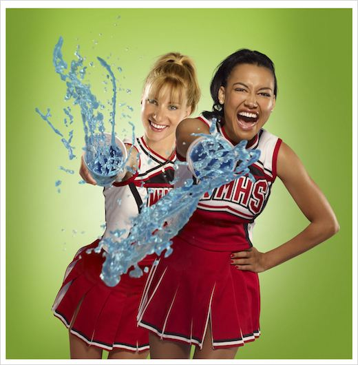 Glee : Photo Heather Morris, Naya Rivera