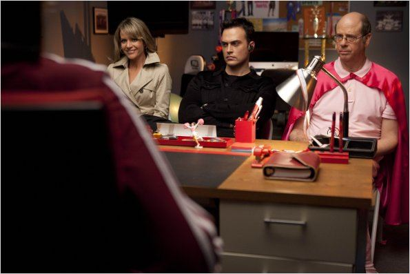 Glee : photo Cheyenne Jackson, Jessalyn Gilsig, Stephen Tobolowsky