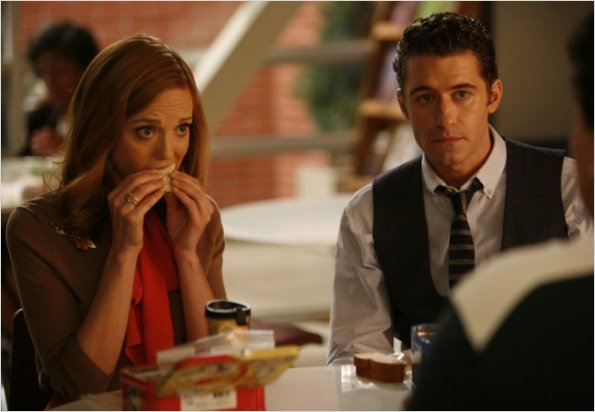 Photo Dot Jones, Jayma Mays, Matthew Morrison