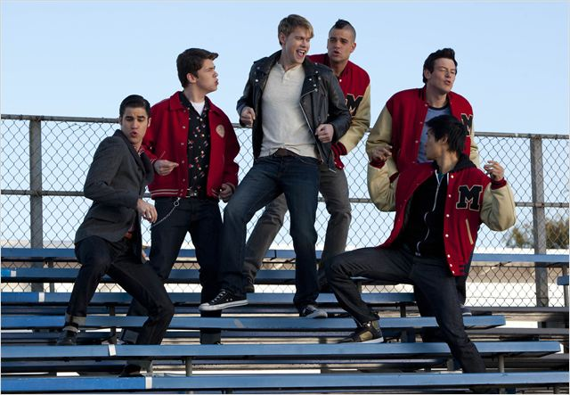 Photo Chord Overstreet, Cory Monteith, Damian McGinty, Darren Criss, Harry Shum Jr.