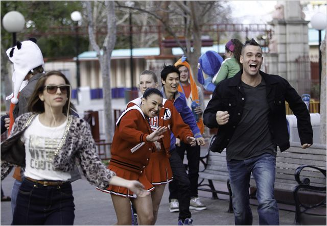 Photo Harry Shum Jr., Heather Morris, Mark Salling, Naya Rivera, Vanessa Lengies