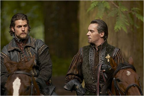 Les Tudors : Photo Henry Cavill, Jonathan Rhys Meyers