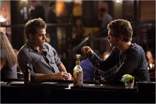 Photo Joseph Morgan, Paul Wesley