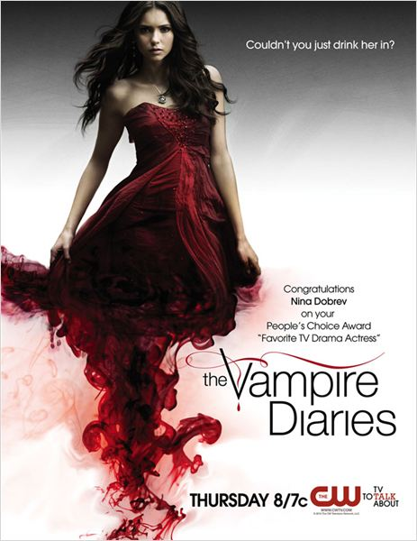Vampire Diaries : photo Nina Dobrev