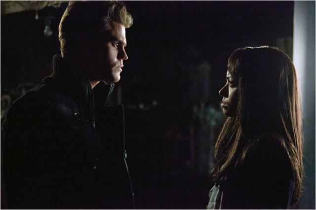 Vampire Diaries : photo Katerina Graham, Paul Wesley