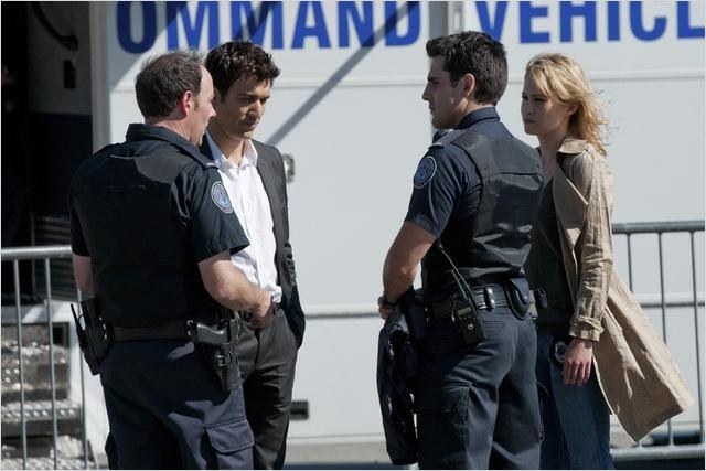 Rookie Blue : photo Ben Bass, Camille Sullivan, Matt Gordon, Noam Jenkins