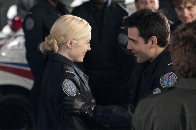 Rookie Blue : photo Ben Bass, Charlotte Sullivan