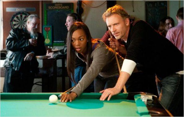 Rookie Blue : photo Callum Keith Rennie, Enuka Okuma