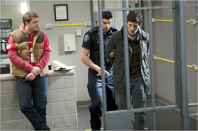 Rookie Blue : photo Dylan Taylor, George Tchortov, Travis Milne