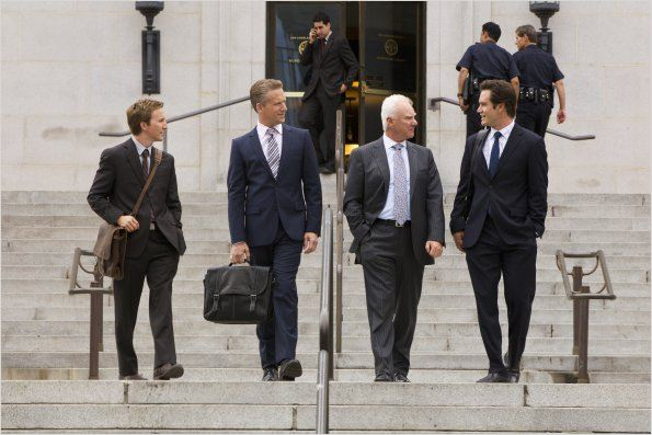 Franklin &amp; Bash : photo Breckin Meyer, Malcolm McDowell, Mark-Paul Gosselaar, Reed Diamond