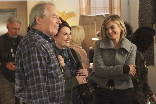 Photo Eliza Coupe, Megan Mullally, Michael McKean