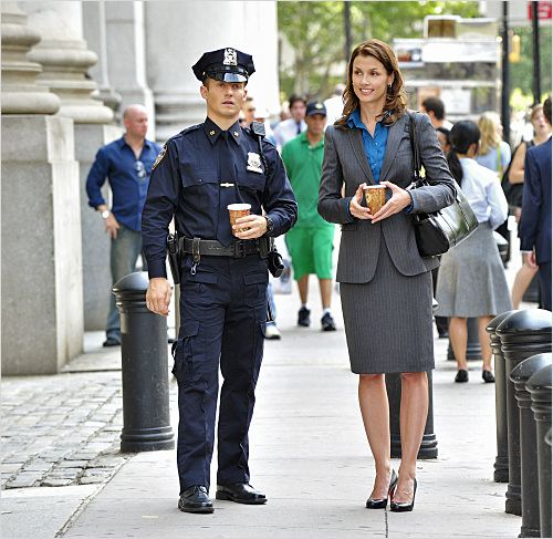 Blue Bloods : photo Bridget Moynahan, Will Estes