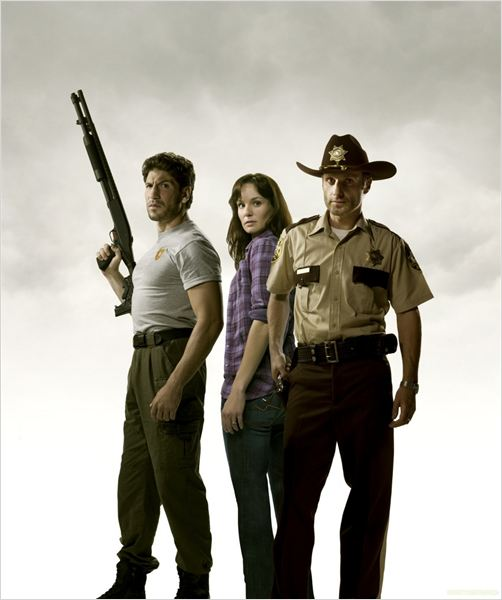 The Walking Dead : Photo Andrew Lincoln, Jon Bernthal, Sarah Wayne Callies