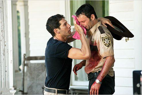 Photo Andrew Lincoln, Jon Bernthal