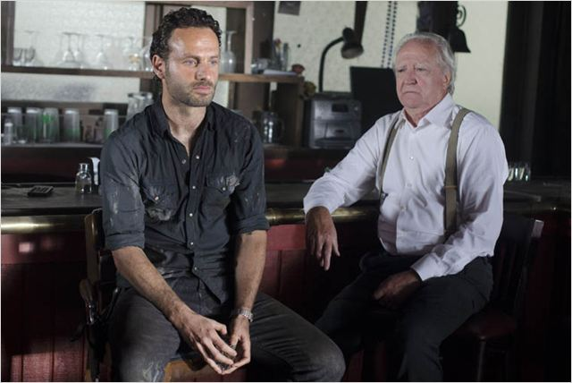 The Walking Dead : Photo Andrew Lincoln, Scott Wilson