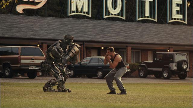 Real Steel : Photo Hugh Jackman, Shawn Levy