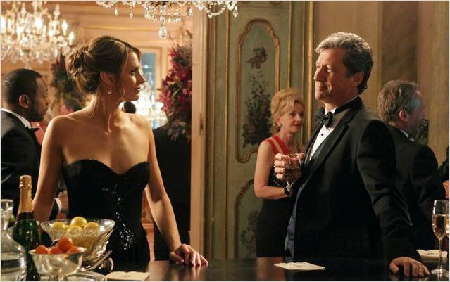 Castle : photo Charles Shaughnessy, Stana Katic