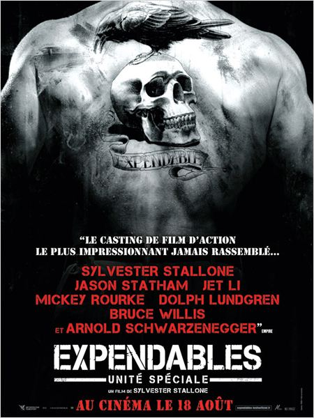 Expendables : unit&#233; sp&#233;ciale : affiche Sylvester Stallone