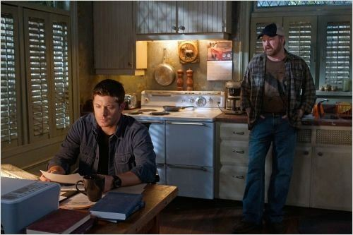Supernatural : photo Jensen Ackles, Jim Beaver