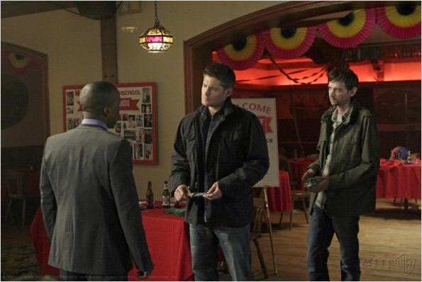 Supernatural : photo DJ Qualls, Jensen Ackles